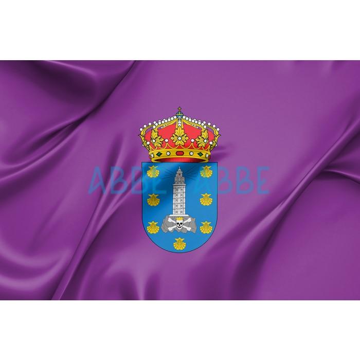 Bandera de Coruña
