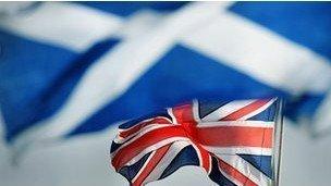 ¿Qué ocurriría con la bandera británica si Escocia se independizara?