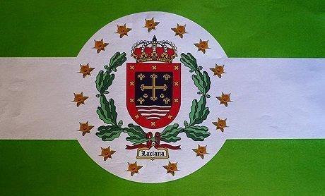 Villablino estrena su bandera que pretende representar a Laciana