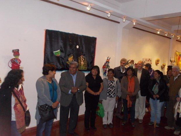 Banderas y artesanías de Carnaval en el Museo Terry