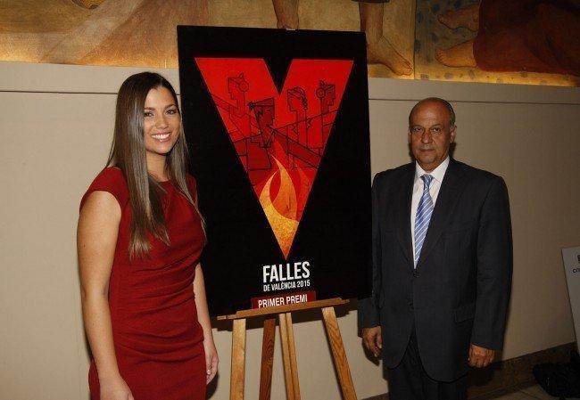 """El cartel """"V Fallera"""" representará a las Fallas de Valencia de 2015"""