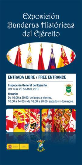 Exposición 'Banderas Históricas del Ejército Español'