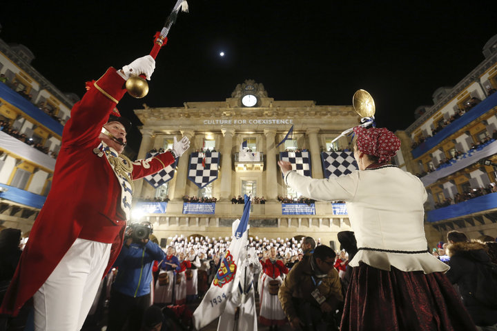 Tambores y barriles con sonido europeo en San Sebastián