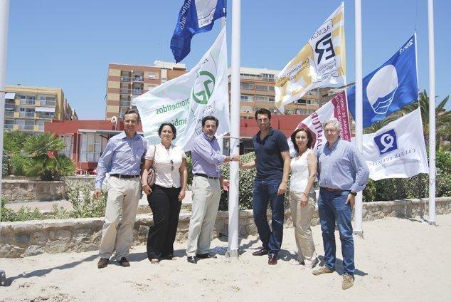 España bate un nuevo récord histórico de 'banderas azules'