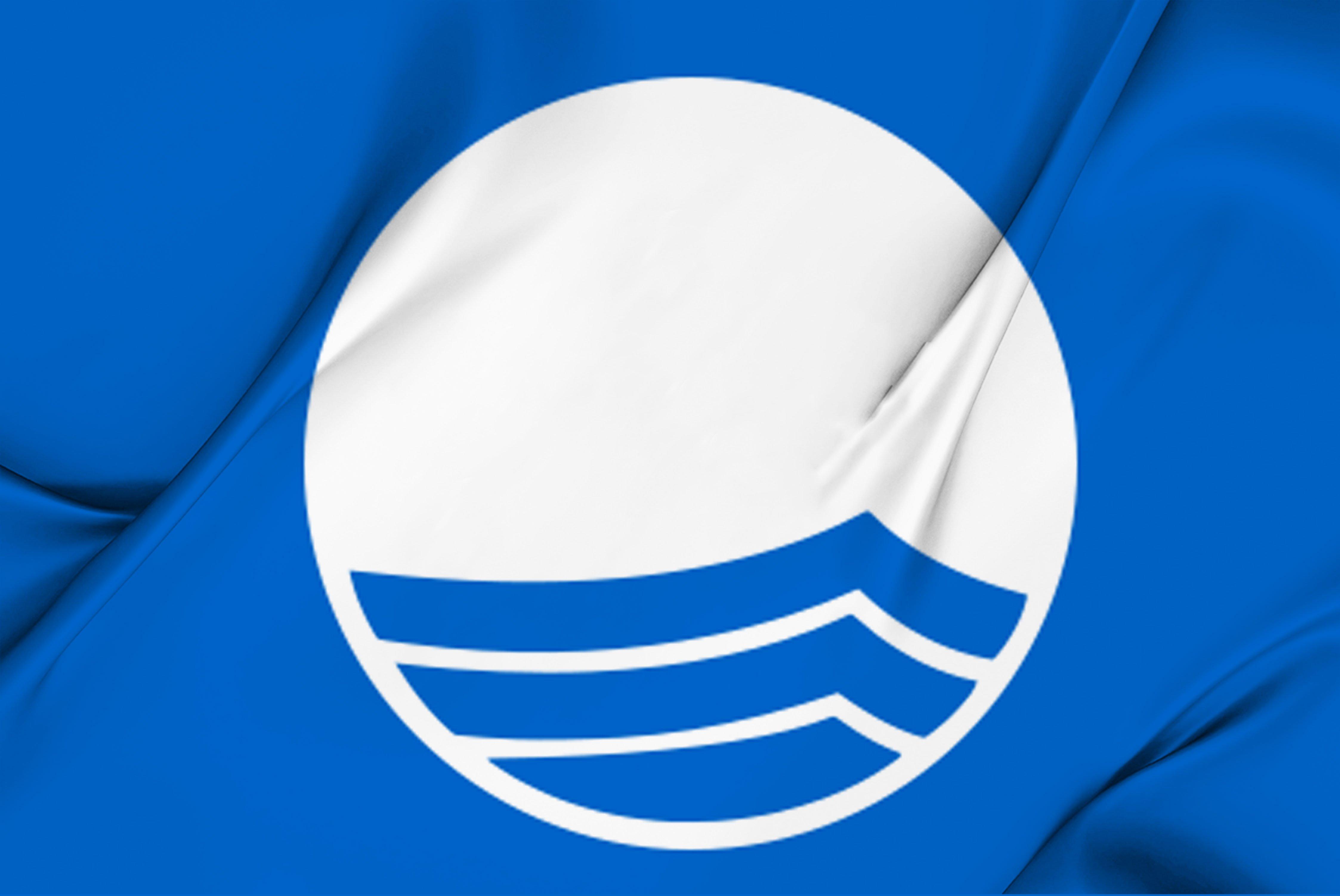 Distintivo playas de calidad BANDERA AZUL