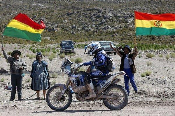 El espíritu dakariano invade Bolivia