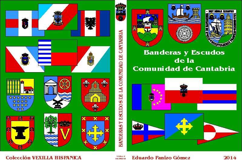 Libros sobre banderas y escudos españoles