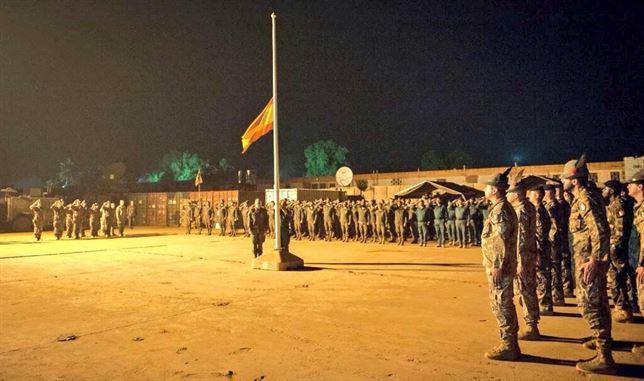 España arría la bandera en R.Centroafricana para dar por finalizada su misión