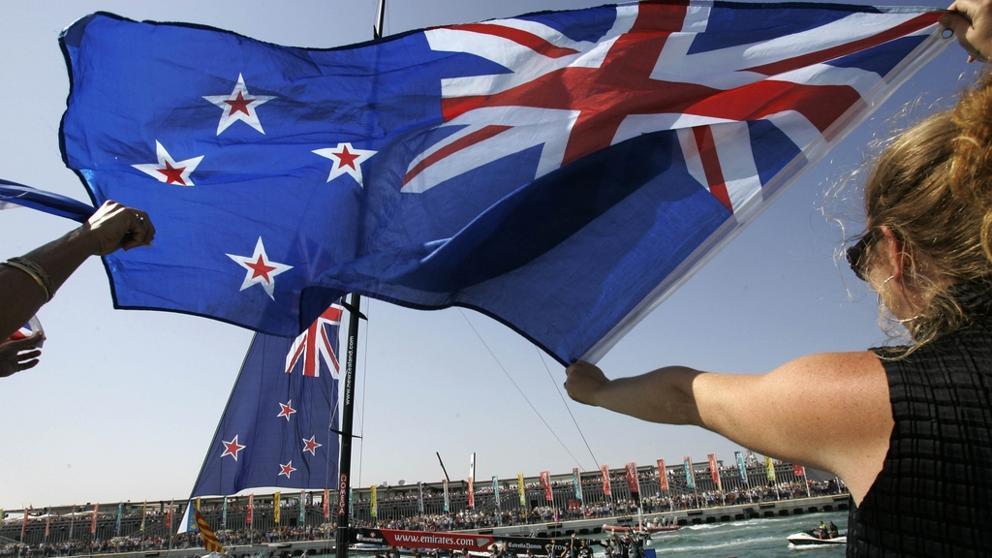 Nueva Zelanda no cambiara su bandera.