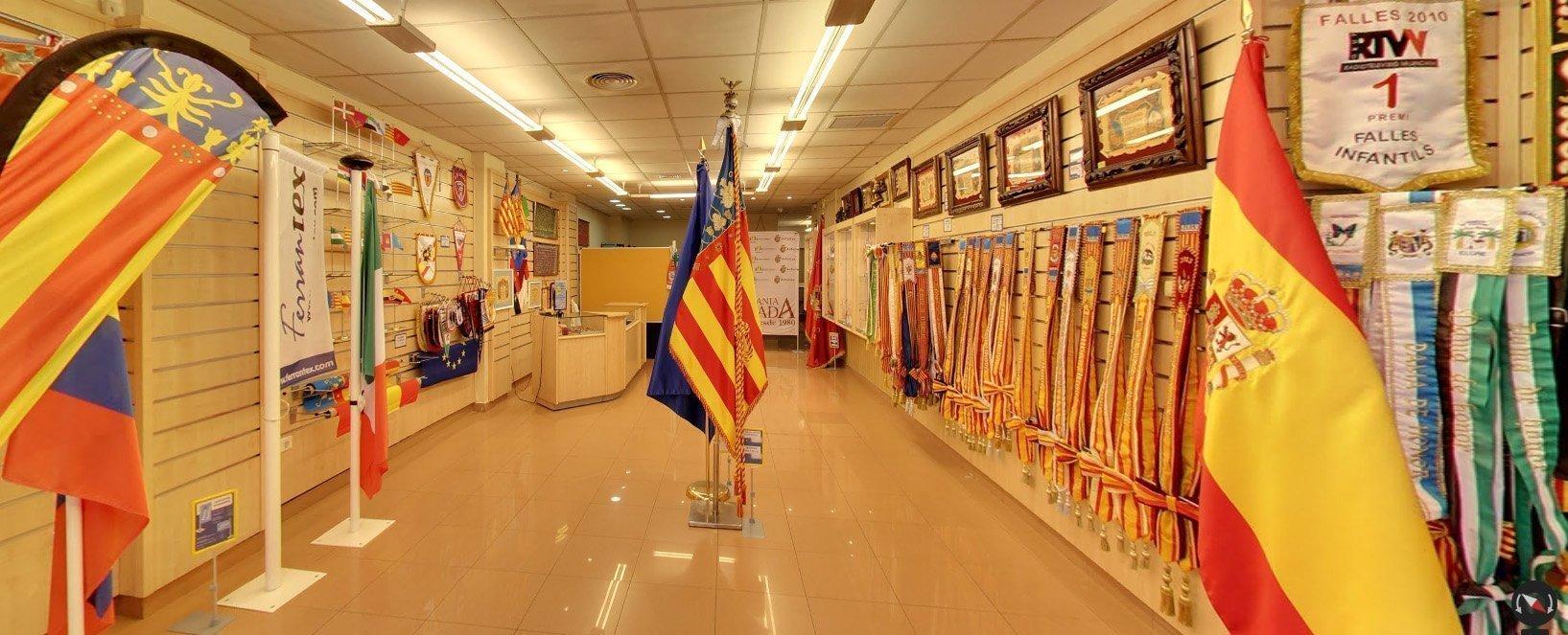 Nuevo recorrido virtual a nuestra tienda en Valencia