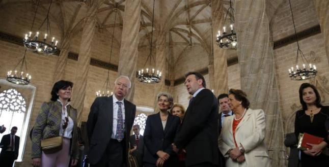 La Unesco respalda las Fallas y Margallo reclama que tengan prioridad en 2015